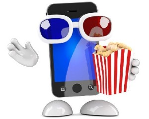 3D Movie on a Phone