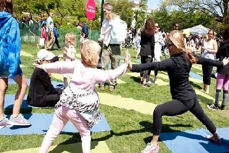 Easter Egg Celebration 2016 Yoga Session Video