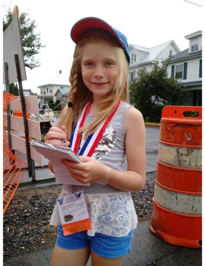 Kid reporter Orange Street News