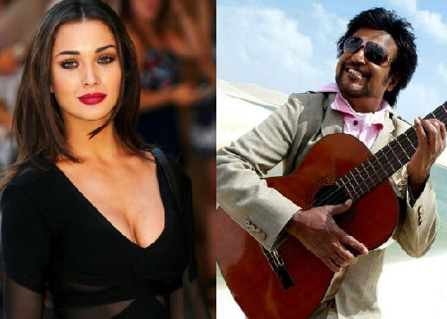 Amy Jackson Photos of Enthiran 2.0