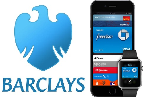 Apple Pay Barclaycard UK