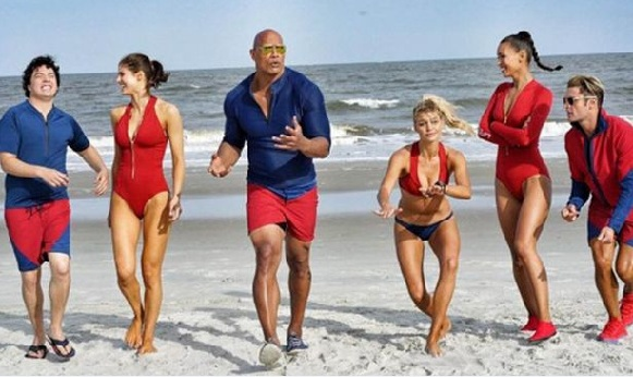 First Look of Film Baywatch: Priyanka Chopra Missing From First Poster