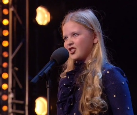 Beau Dermott Performance of Defying Gravity
