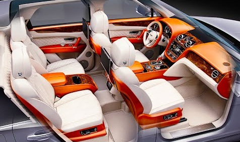 Bentley Bentayga Interior Photos