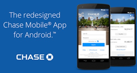 Chase Fingerprint Reader Android Phone