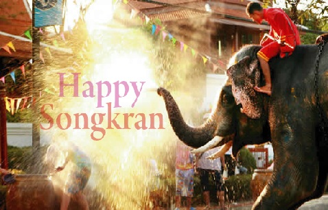 Happy Songkran Day Message and Wishes: World's Biggest Water Festival Video