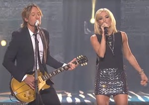 Keith Urban and Carrie Underwood's duet