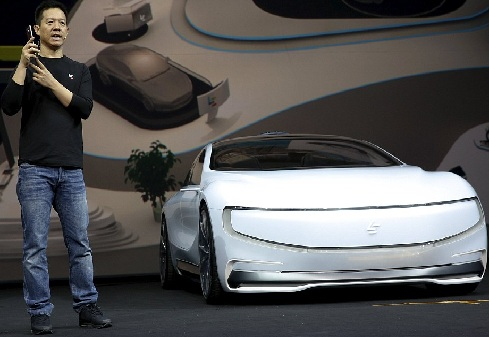 China's LeEco Reveals Autonomous Electric Car
