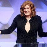 Lilly Wachowski's Red Carpet Photos in a Black Floor-Length Gown at GLAAD Awards 2016