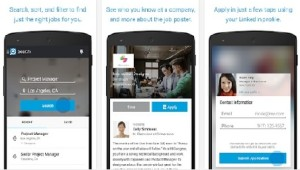 Linkedin Job Search Android Application