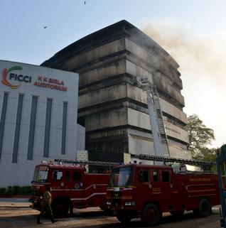 Massive Fire Destroys India's National Museum