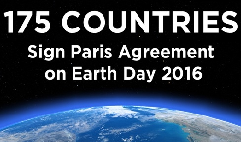 Paris Climate Change Conference Agreement Summary 2016
