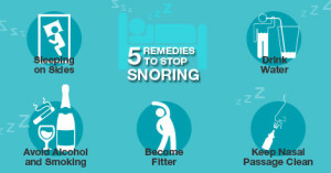Remedies to Stop Snoring