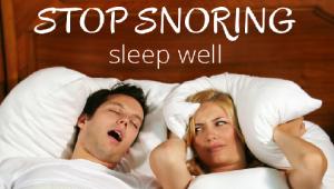 Stop Snoring Habit
