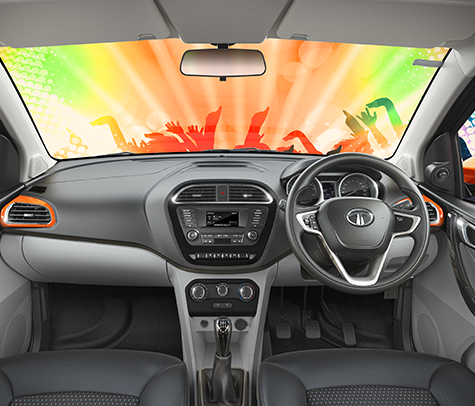 Tata Tiago Interior Pics/ Color Option Photos
