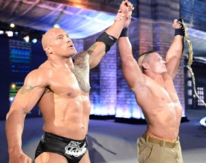 When The Rock and John Cena Returned
