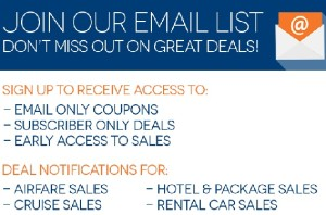 Travelocity Email List.