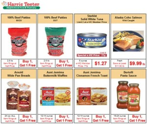 Harris Teeter Weekly Specials AD