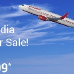 Air India Super Sale Ticket Booking Offer 2016