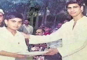 Ashish Nehra and Virat Kohli Old Photo