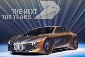 BMW Self Driving iNext Electric Car