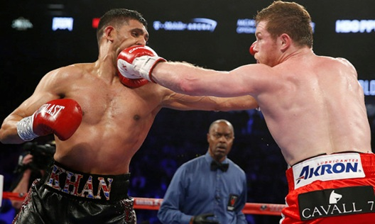 Canelo Alvarez vs Amir Khan Fight Highlights