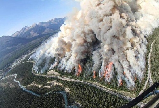 Fort McMurray Wildfire Status Map Canada