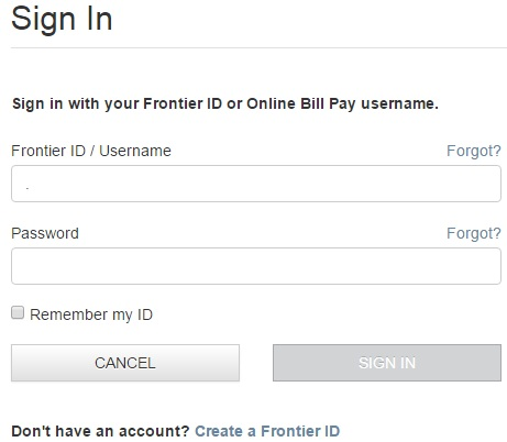 Sign up Auto Pay/ Frontier Billing Account Help Center