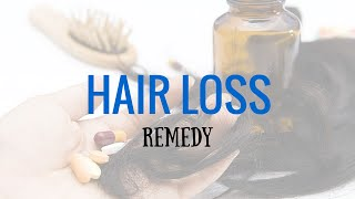 Hair Loss Remedy in Homeopathy