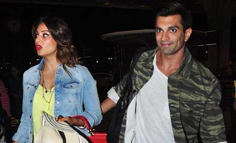 Honeymoon Photos of Bipasha Basu and Karan Singh Grover from Maldives Beach