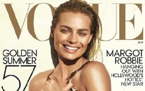 Margot Robbie's Summer Tan Look