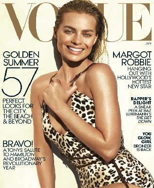 Margot Robbie Vogue Magazine Photoshoot