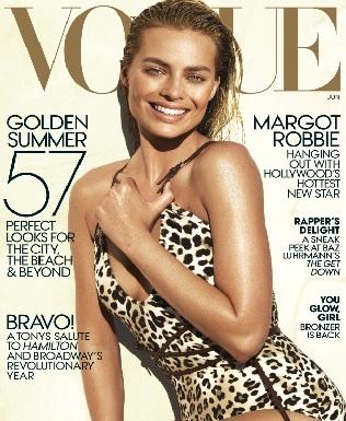 Margot Robbie Vogue Magazine Photoshoot