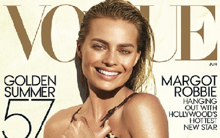 Margot Robbie's Summer Tan Look on Vogue's Cover Page and How to Get It