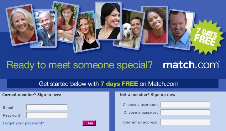 Match Com Free Trial Subscription Code/  Cost