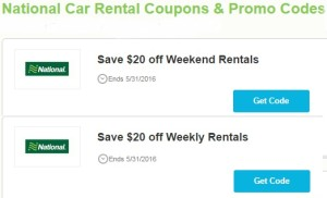 Discount Coupons and Code for Car Reservation
