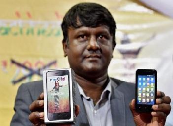 Make in India Mobile Phone on namotel.com