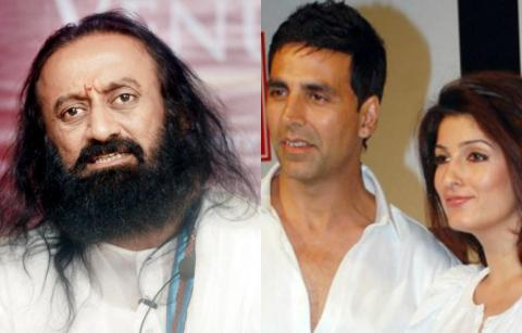 Twinkle Khanna Trolled After Her Joke on Sri Sri Ravi Shankar