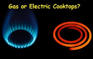 Gas or Electric Cooktops