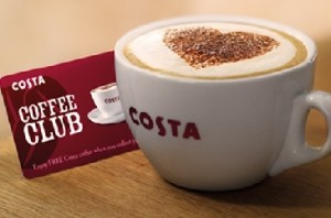 Costa Coffee Club Card