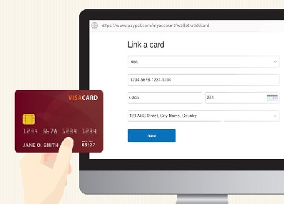 Help to Add a Credit Card to a PayPal Account