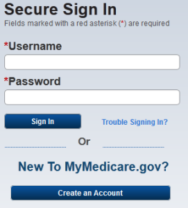 mymedicare.gov Log In