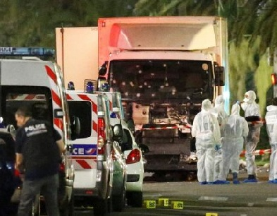 Nice France Attack Video Graphic