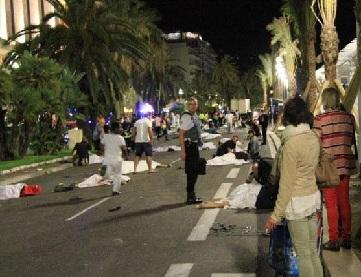 Nice Terrorist Attack Pictures