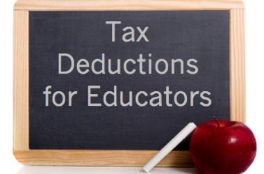 Educator Expenses Deduction No Receipts
