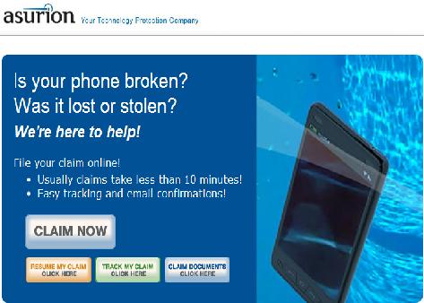 Insurance Phone Claim Verizon