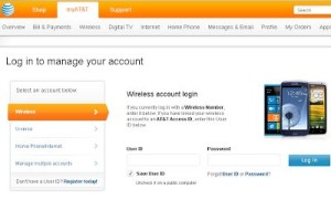 AT&T Accounts Login and Registration