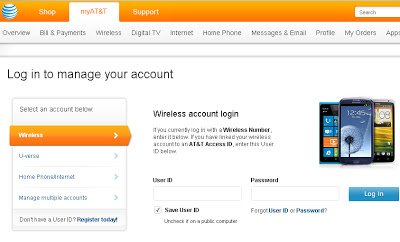 ATT Bill Pay Login