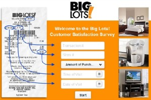 Big Lots Customer Satisfaction Survey