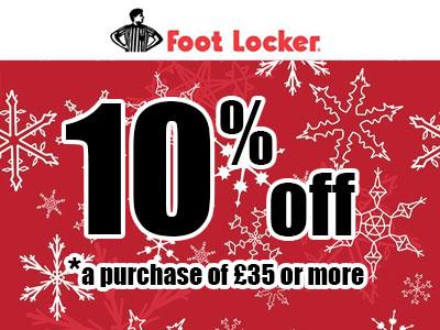 Foot Locker Survey Coupon Code UK